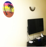 GW Art's 'Island Set' Acrylic on Canvas Panting, adding colour to the walls of a new home.